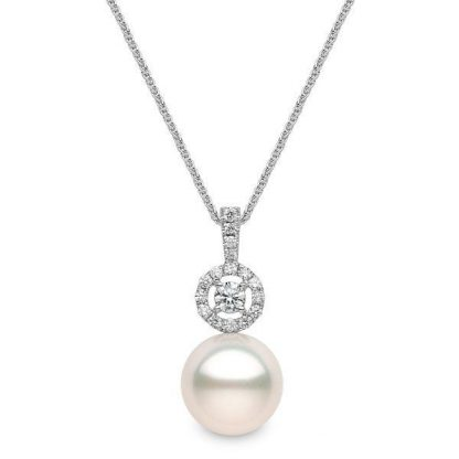 Pearl & Diamond Pendant
