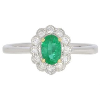Emerald & Diamond Cluster