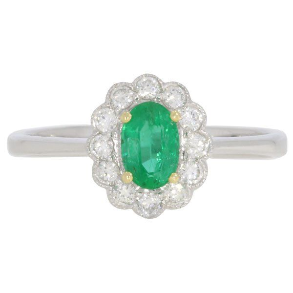 Emerald & Diamond Cluster