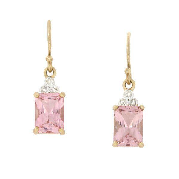 Pink Tourmaline Drops