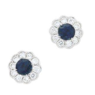Dk Blue Sapphires
