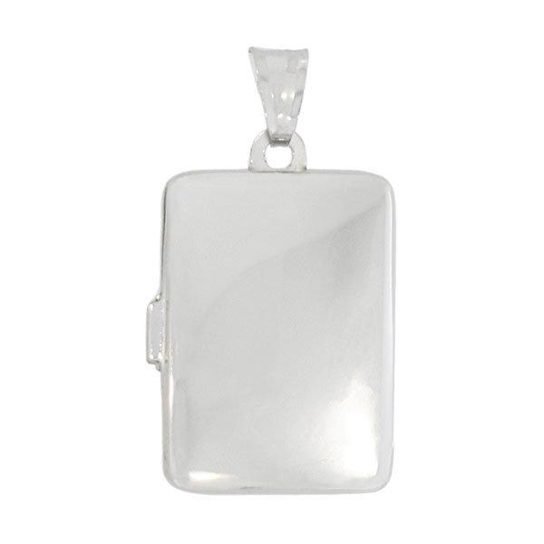 Plain Silver Locket