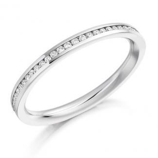 channel set eternity ring