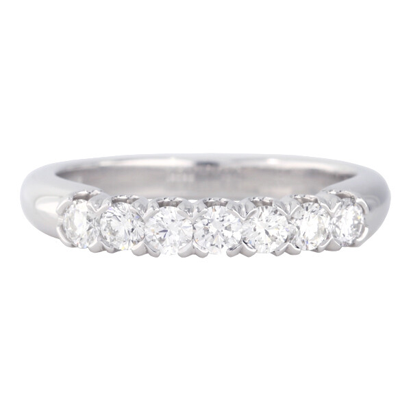 7 stone eternity ring