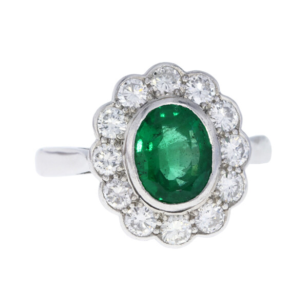 2.06ct Emerald ring