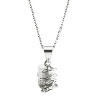 Silver Cairn Pendant