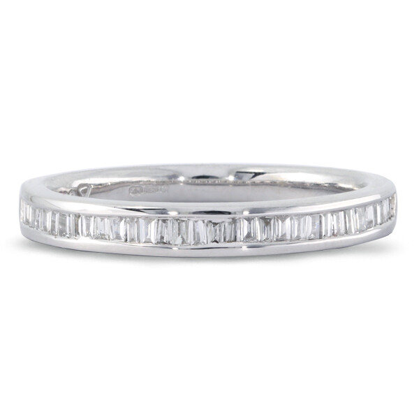 Baguette Cut Eternity Ring