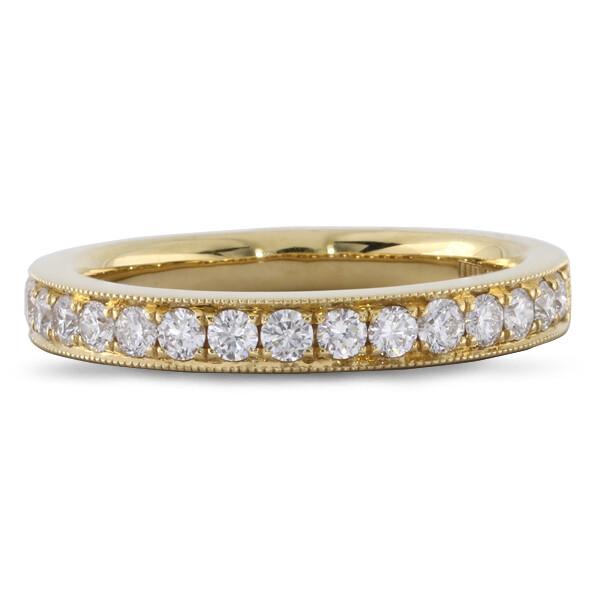 Yellow Gold Eternity Ring