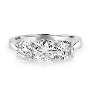 2.02ct Diamond 3 Stone