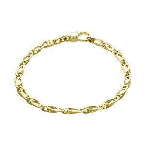 9ct Fancy Link Bracelet