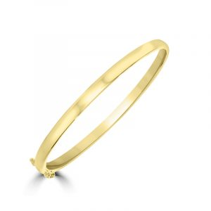 9ct Solid Gold Bangle